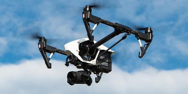 Drone at meeting
