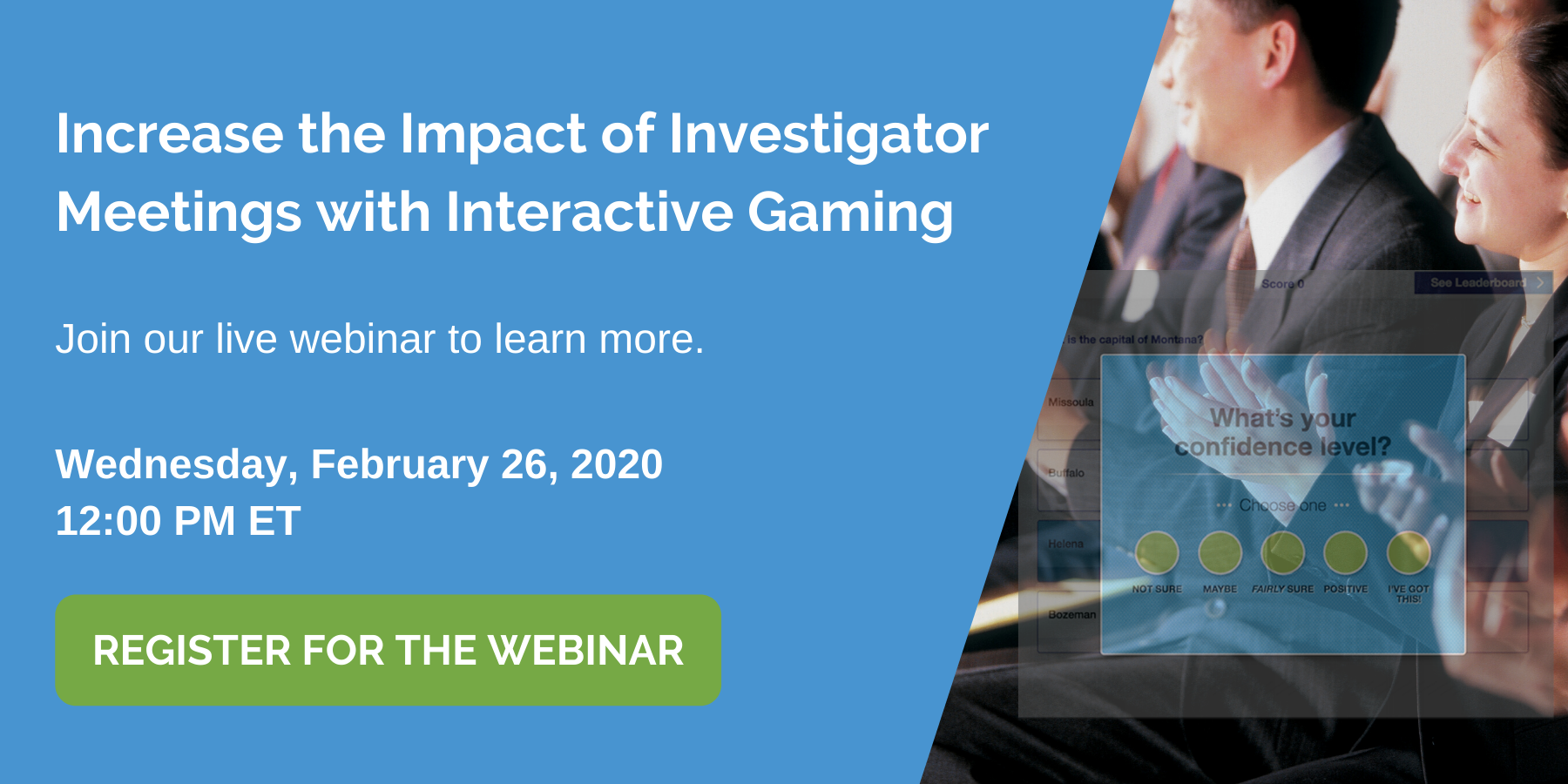 Gamification for Investigator Meetings